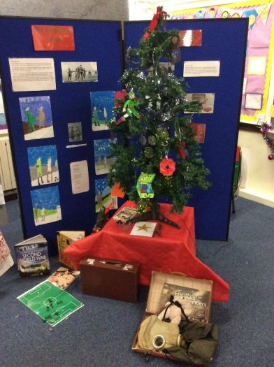 Macosquin PS Year 4H World at War Christmas Tree
