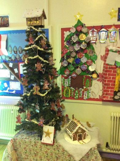 Macosquin PS Year 4P Gingerbread Friendship Tree