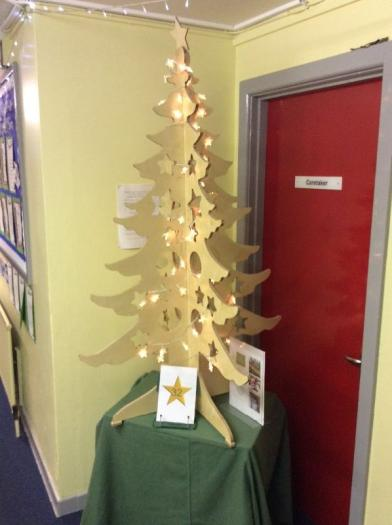 Ashes to Gold Christmas Tree